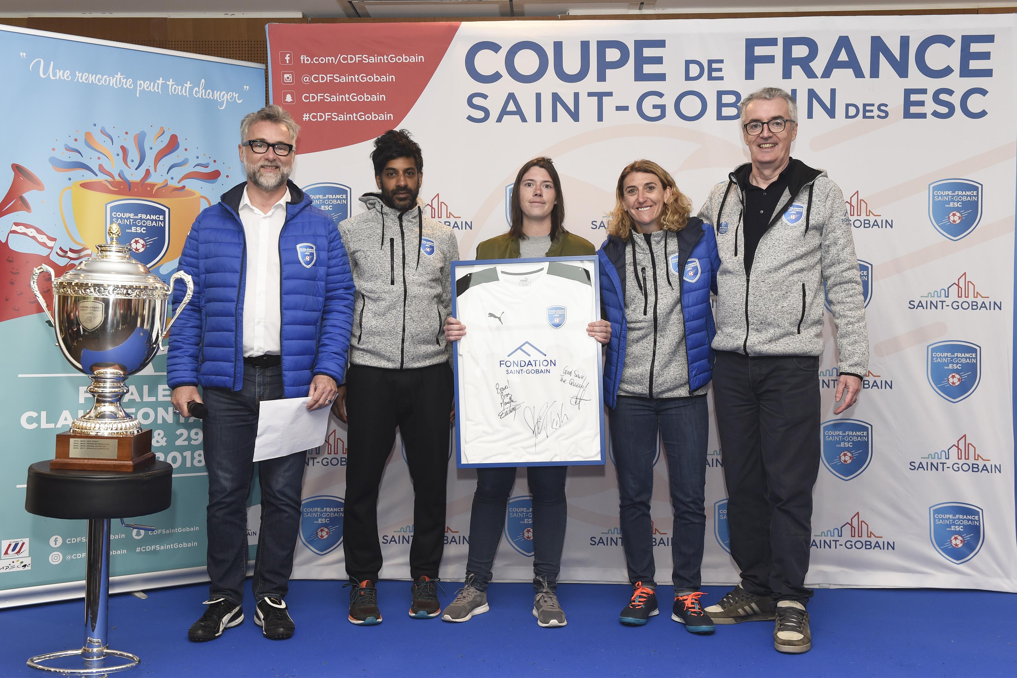 Clairefontaine - 27, 28 & 29 Avril 2018 - Coupe de France Saint-Gobain des ESC - Saison 7 - Final 6